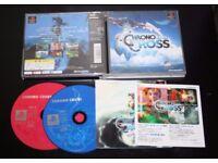 Chrono Cross, jeu playstation ps1, jap , complet