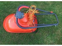 Flymo Micro Lite Lawn Mower 240v 1000w Safety Blades Used Good Working Order
