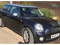Relocating so reluctantly selling my reliable black mini clubman.
