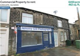 Kirkgate Silsden BD20 0AL - Commercial Property prominently Central Location To Rent - £450 pcm