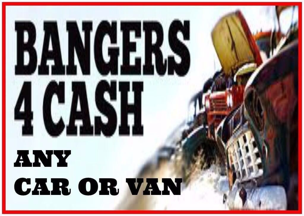SCRAP MY CAR A VAN LONDON WANTED FOR CASH BUY ANY NON RUNNERS CAR ...