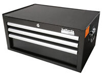 Halfords Industrial Middle Chest / Toolbox / 3 Drawer - Brand New