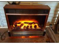 Dimplex Radiant electric fire 3kw electric fire with living flame effect in perfect working order