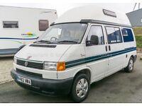 Deposit Taken: Autosleeper Topaz, VW T4, Auto Petrol, 1997, End Washroom