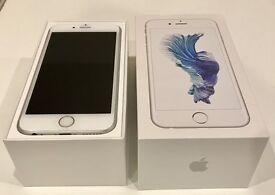 Apple iPhone 6S, 64gb, silver, unlocked - in box