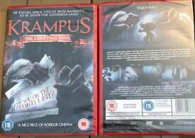 X25 Krampus the Christmas devil dvd movies new / Sealed