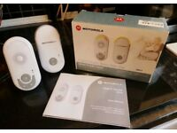 Motorola Digital Audio Baby Monitor - MBP8 - Boxed, in full working order.