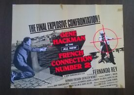 french connection 2 ' original 1970s cinema poster
