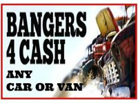 SCRAP MY CAR A VAN LONDON WANTED FOR CASH BUY NON RUNNERS CARS COLLECTION MOTORBIKE YARD ESSEX SELL