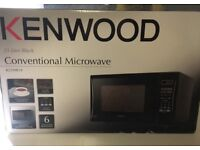 Kenwood 25litre 900w conventional microwave. Brand New in unopened box