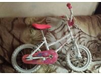 14 inch bike girl bycicle