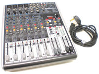 BEHRINGER MIXER X1204 USB, ALL WORKING WITH SLIGHT HUM ON CH2