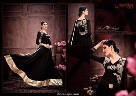 fabulous designer branded heavy suits of latest trendz in wholesale
