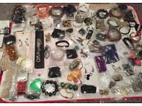100 jewellery items clearance joblot bundle