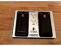 Behringer AB200 Dual Programmable A/B Footswitch