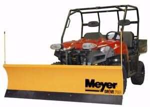 Brand New Meyer UTV Snow Plow - Meyer Drive Pro Snowplows for Utility Vehicles!
