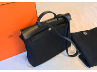 Hermes Herbag Zip Bag with 2nd larger spare bag part