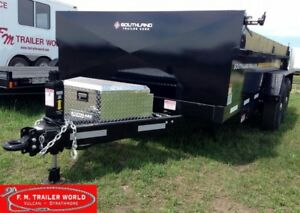 2018 Southland 14' Heavy Duty Dump Trailer 2-8000# Axles  SL280H