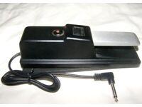 Roland DP-10 Piano Keyboard Sustain Damper Pedal. Good for Korg , Yamaha , Kurzweil , Casio / Used !