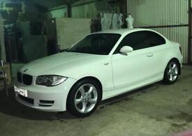 💥BMW 120d Sport Coupe White💥