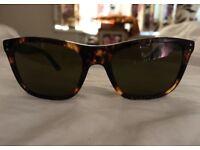 Polo Ralph Lauren Tortoise Sunglasses unisex