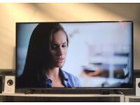 50'' Smart 4K Ultra HD LED TV - Black in perfect conditions Hisense H50M3300