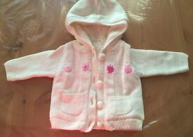 Baby girl jackets & all in one NB -3 m