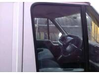 FORD TRANSIT MK7 DRIVER SIDE FRONT DOOR WINDOW GLASS