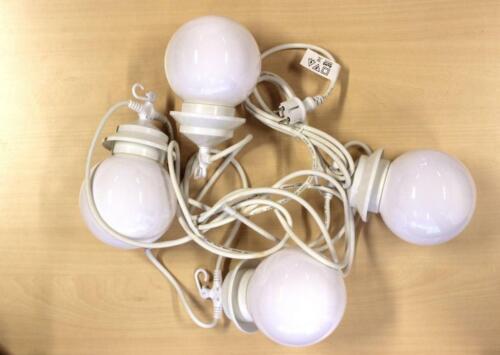 Partyzelt 4 Kugel Beleuchtung 7,5 Meter 4 Lampen LED Leuchten In Moers