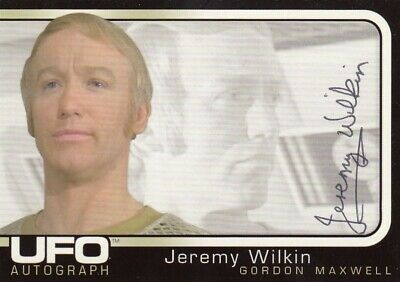 UFO TV Series Ultra Rare Jeremy Wilkin as Gordon Maxwell Auto Card, used for sale  Shipping to United States