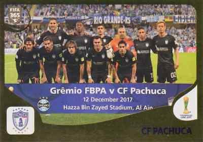 PANINI STICKER FIFA 365 2019 NR 452 CF PACHUCA TEAM NEUWARE SAMMELBILD