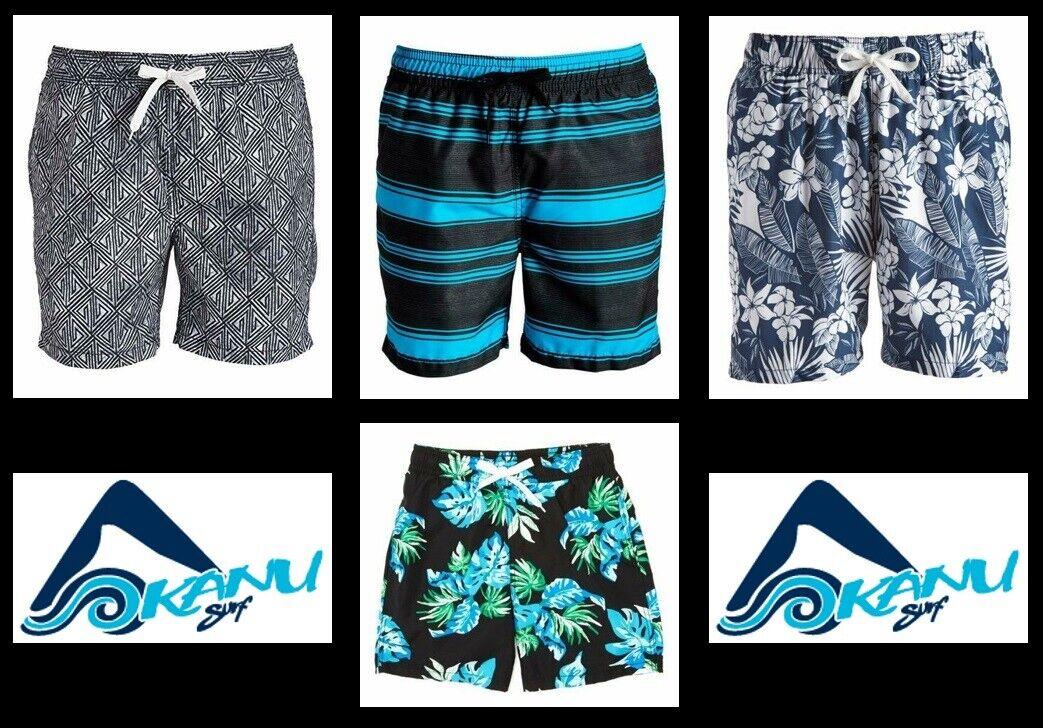Kanu Surf Men's Haze, Riviera, Jake, Waves Swim Trunks Board
