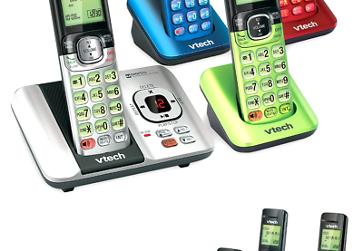 VTech CS6529-4B 4 Handset Answering System with Caller