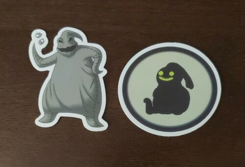Disney Stickers - Lot Of 2 - The Nightmare Before Christmas Characters  - $0.99