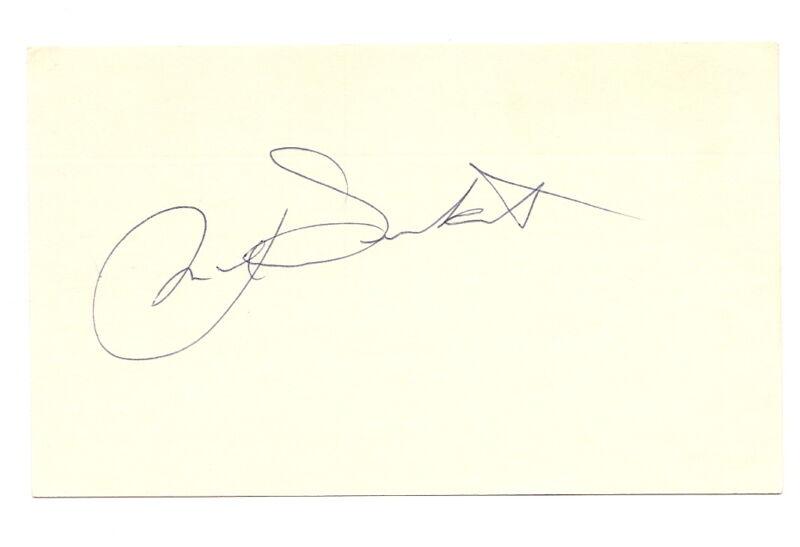 Max Surkont Autograph 3x5 White Sox 1949 D-86 EX!!