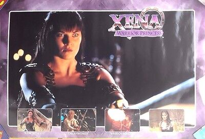 1998 XENA Warrior Princess TV Series Poster- Unused- Rolled (XEPO-PTW813)