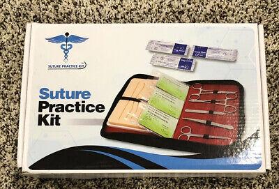 Suture Practice Kit For Medical Vet Dental Students 27 Pc