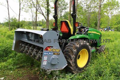 60 Fixed-tooth Forestry Brush Mulcher For Compact Tractors - Baumalight Mp360