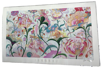 James Jean Art Print - BTS Seven Phases: The Garden, Signed - Hybe Insight Seoul