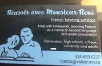 FRENCH TUTOR / TUTEUR EN FRANÇAIS