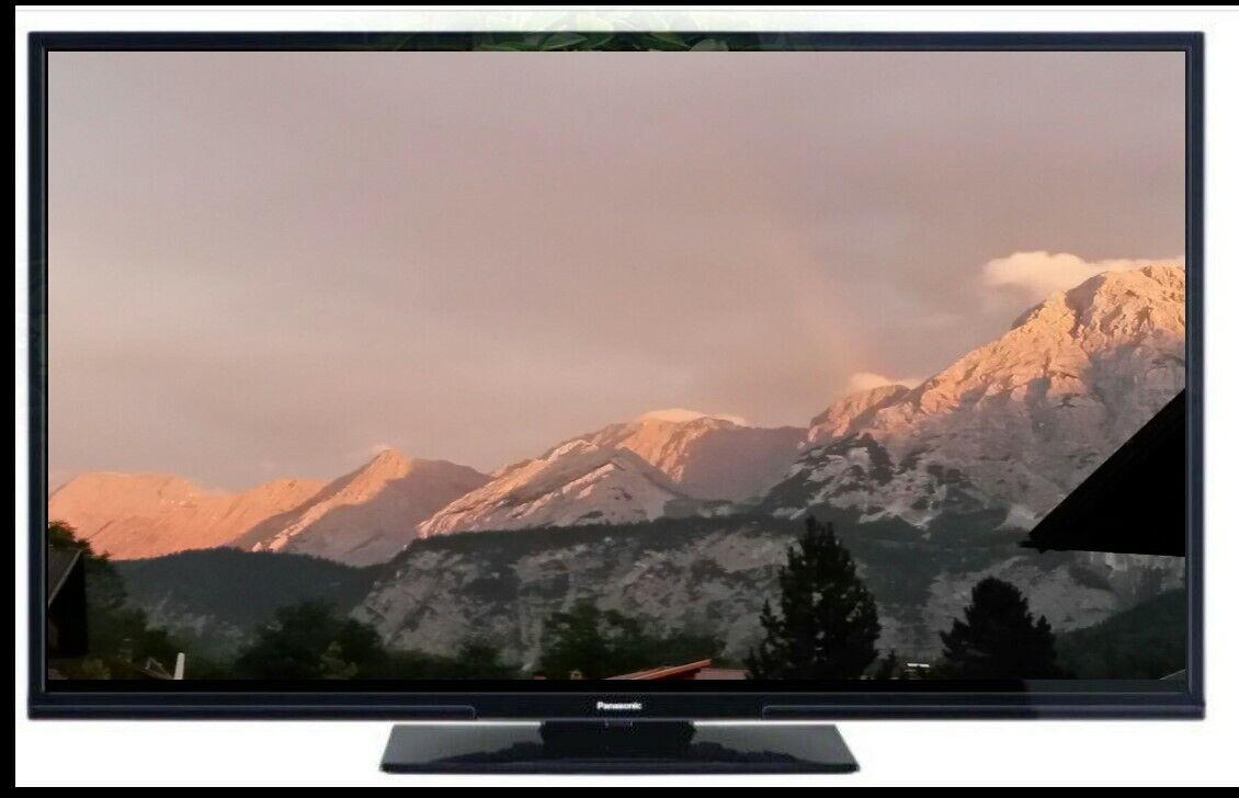 Panasonic TX-39GW 334 LED Fernseher 98 cm / 39 Zoll FULL HD Triple Tuner 200 HZ