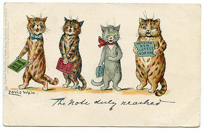Louis Wain Cat  #539 II