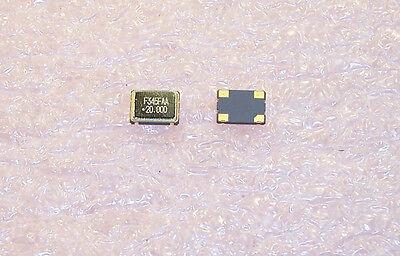 Qty 50 20 Mhz Smd Oscillators 5v Tri-state 5x7.5mm F3345-200 Fox Rohs 20.000mz