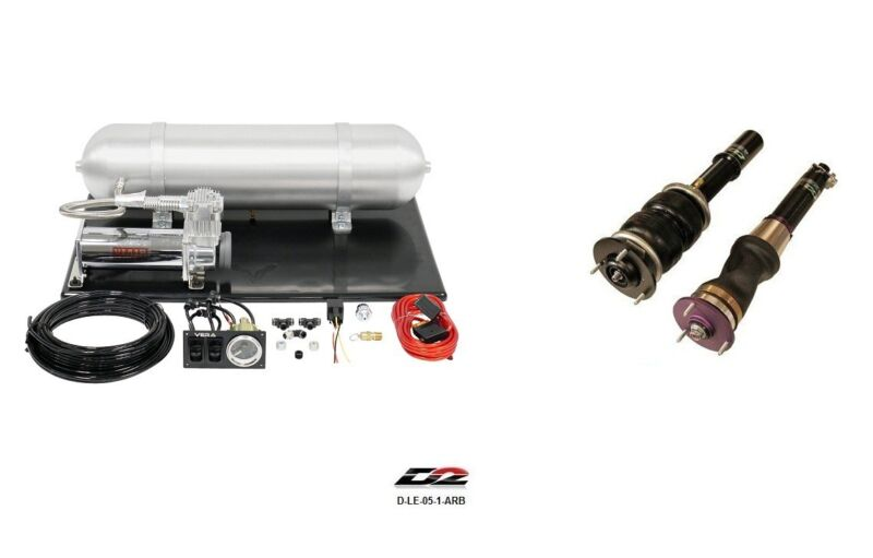 D2 Air Struts + Vera Basic Air Suspension For 2006+ Lexus Is250 Is350 Isf Rwd