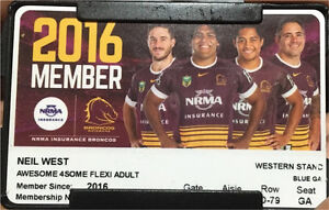 Broncos tickets (Corey Parkers last home game) Gailes Ipswich City Preview