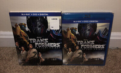 Transformers: The Last Knight [New Blu-ray] With DVD, +Sleeve