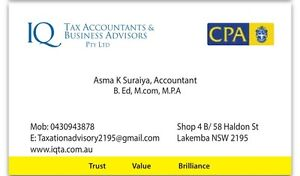 Accounting & Taxation Services Lakemba Canterbury Area Preview