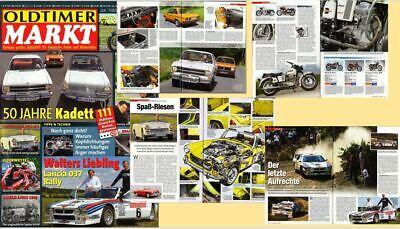 Oldtimer Markt 12/07 Opel Kadett Lancia Rally 037 Austin Healey Sprite MG Midget comprar usado  Enviando para Brazil
