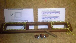 Doppel - Strickstab mit 112 Haken 1 Nadel ALLESKÖNNER Strickbrett Socken