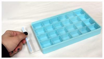Slide Top Bead Tray Organizer 24-compartments